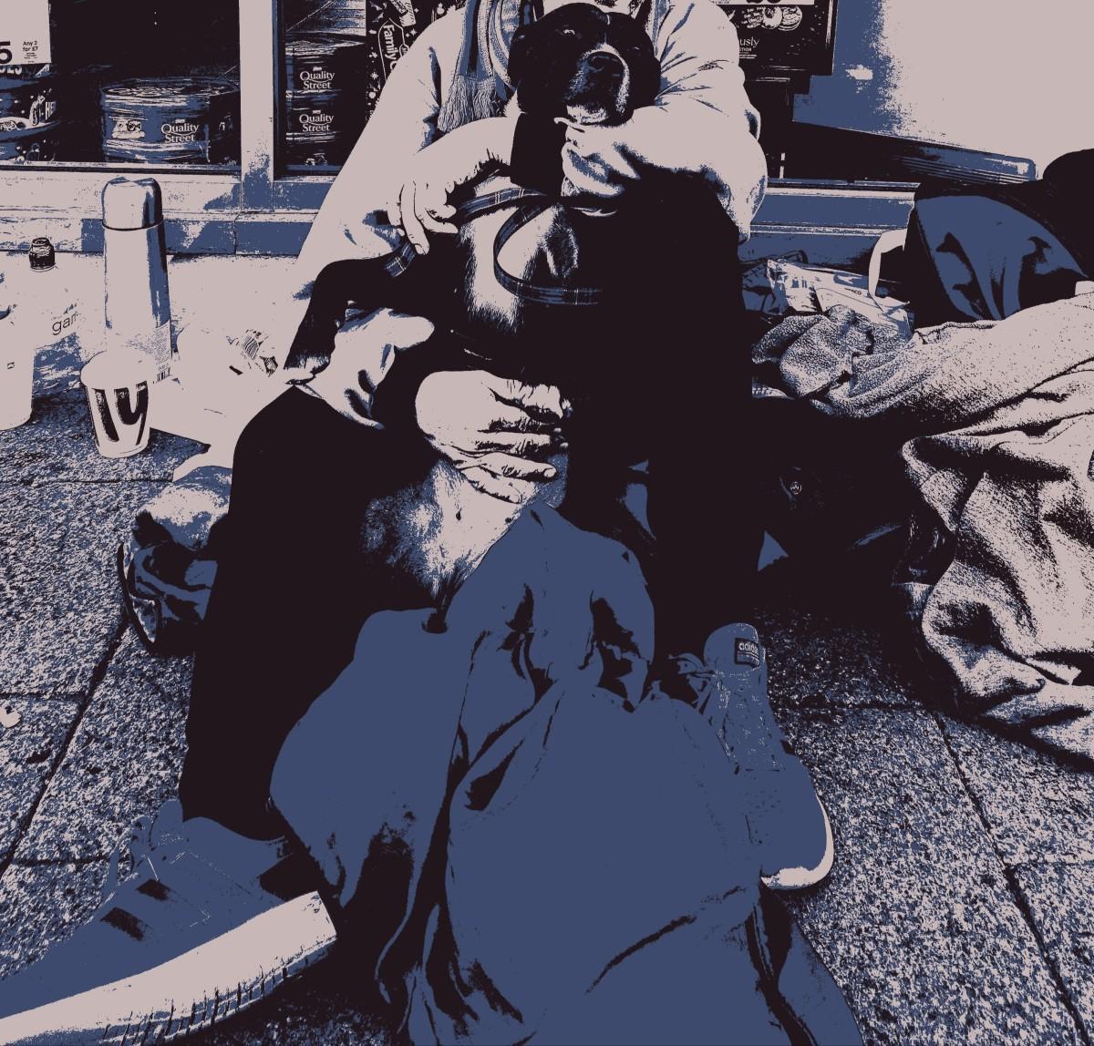 My homeless friend🙁